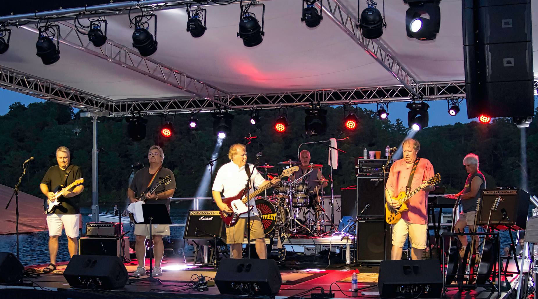Riverstreet band on stage